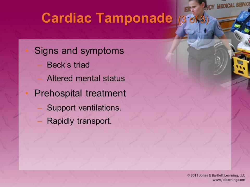 Cardiac Tamponade (3 of 3)