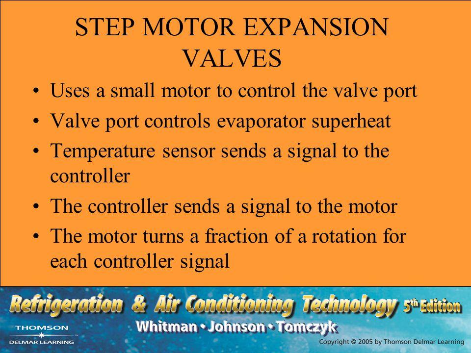 STEP MOTOR EXPANSION VALVES