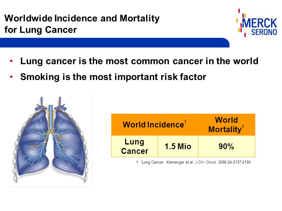 Worldwide Incidence and Mortality for Lung Cancer