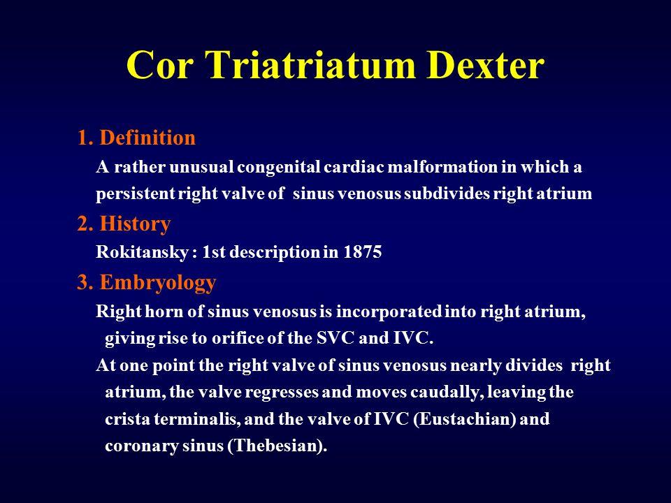 Cor Triatriatum Dexter