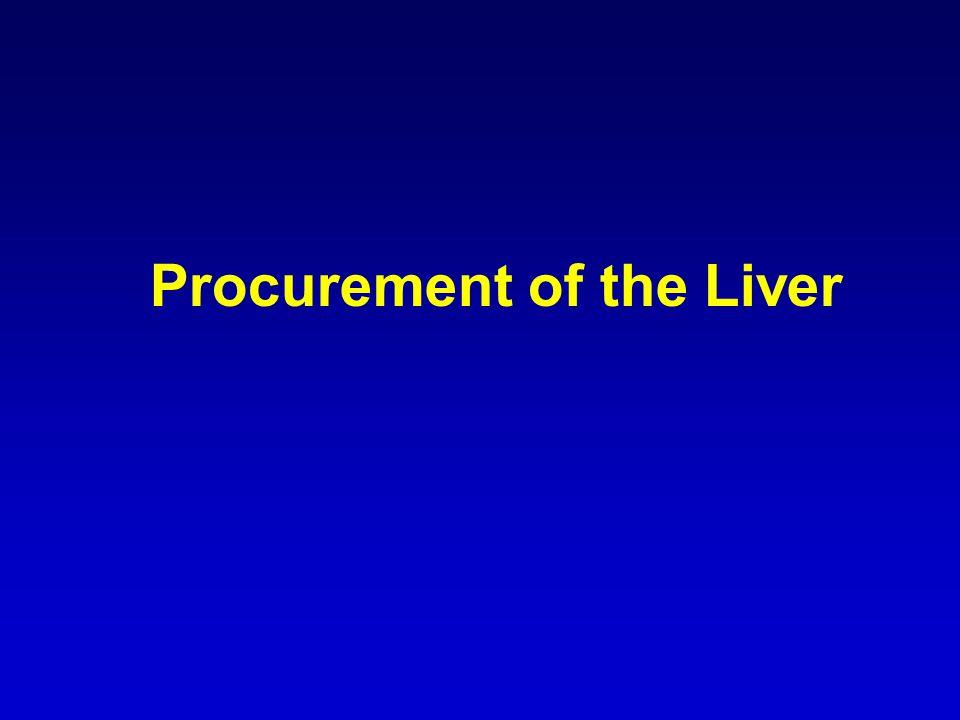 Procurement of the Liver