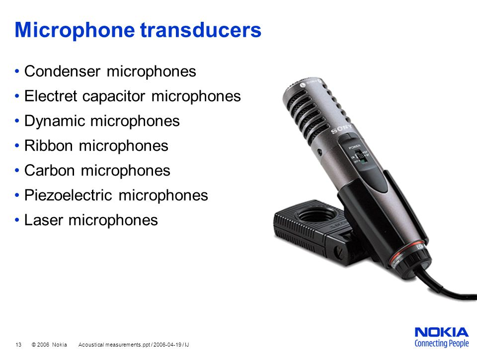 Microphone transducers