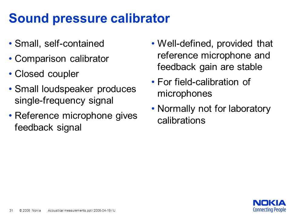 Sound pressure calibrator