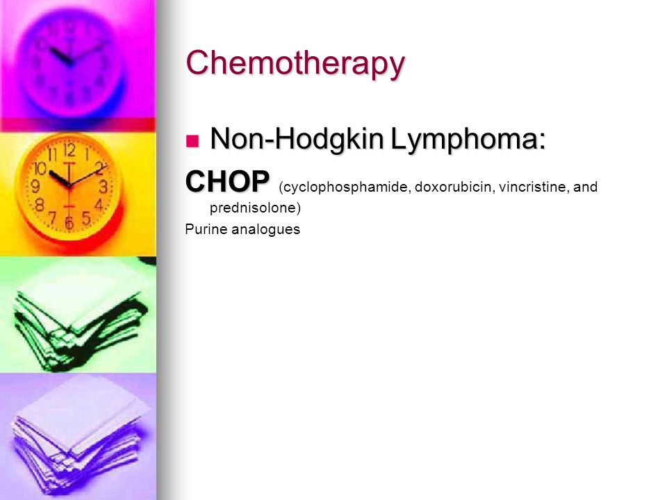 Chemotherapy Non-Hodgkin Lymphoma: