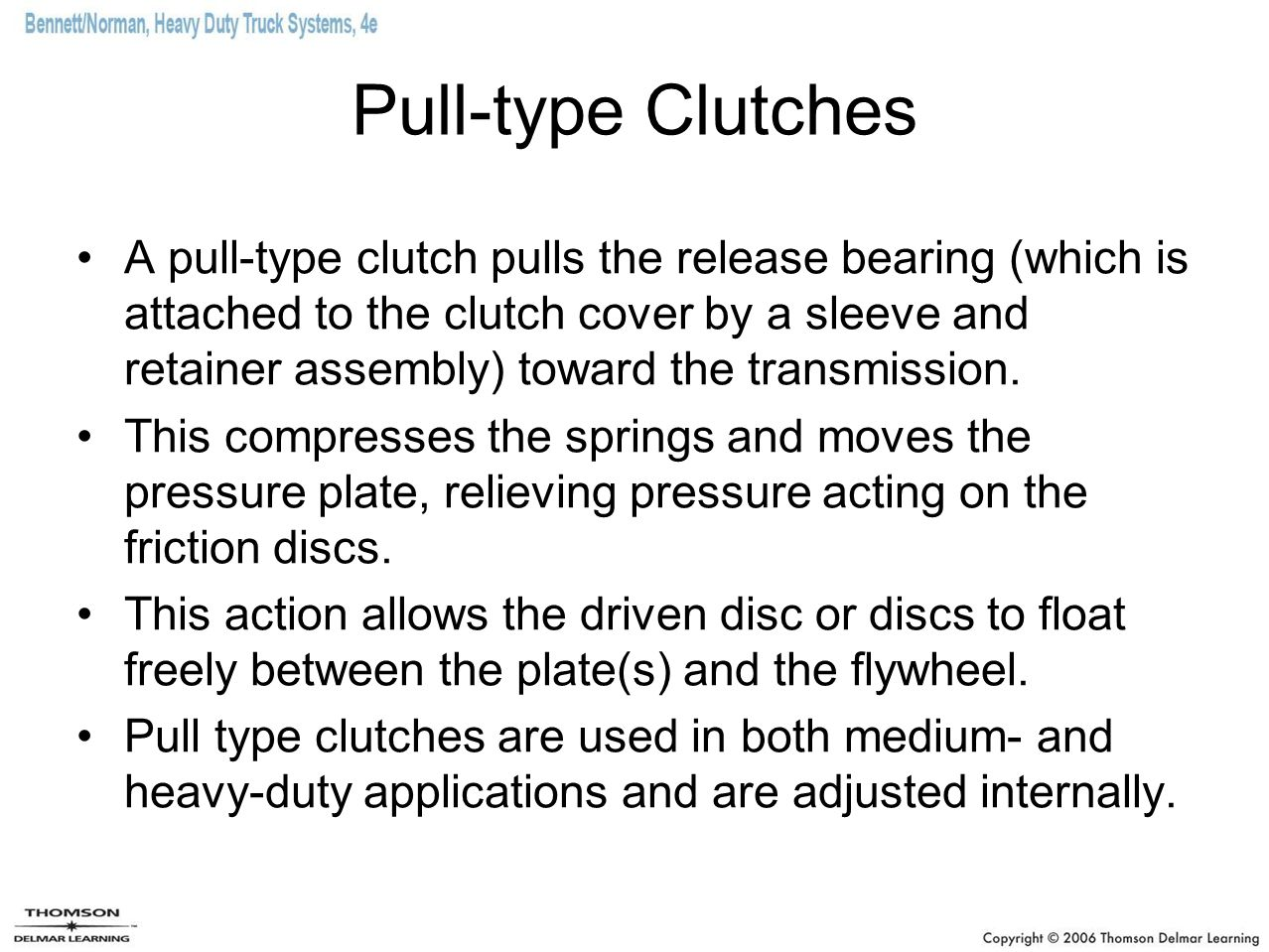 Pull-type Clutches