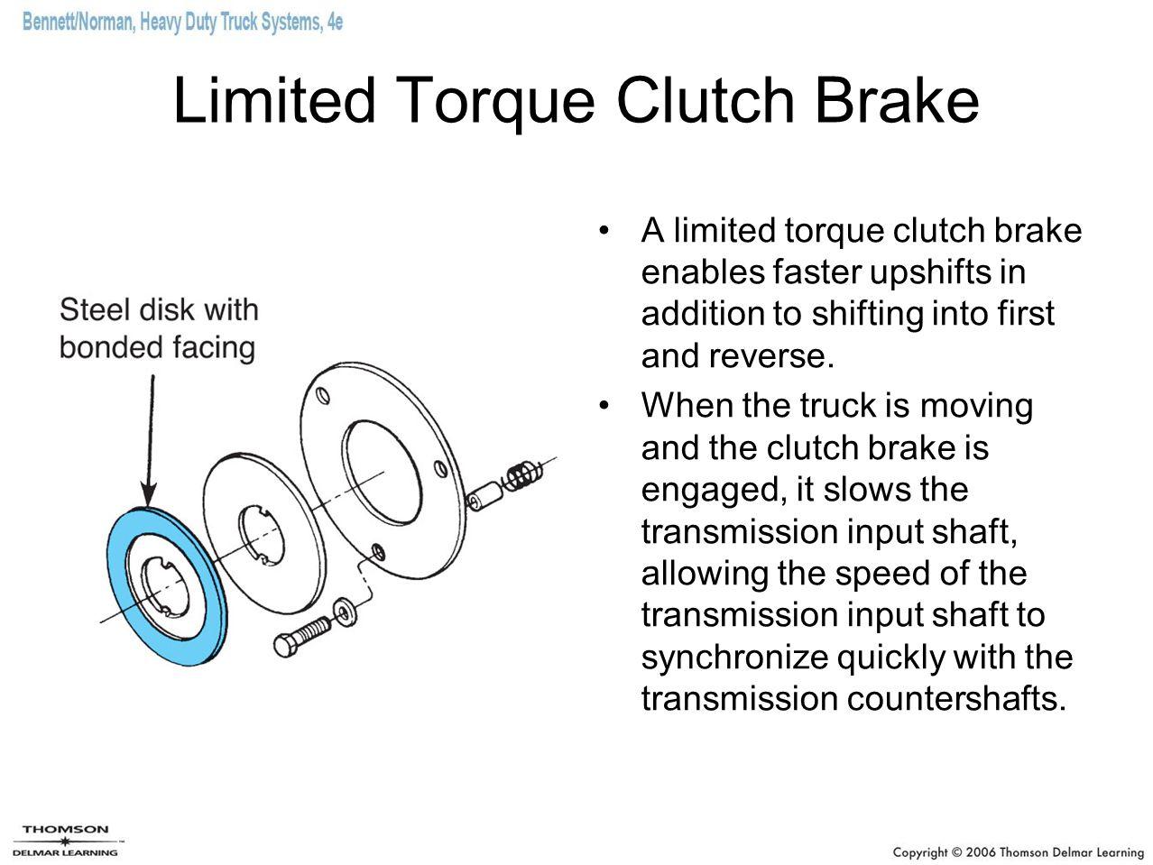 Limited Torque Clutch Brake