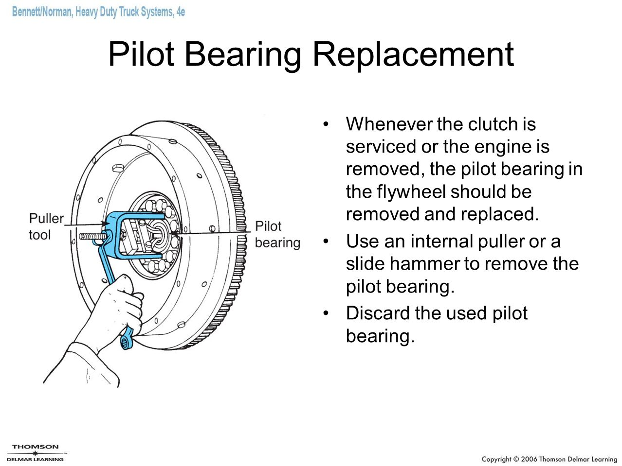 Pilot Bearing Replacement