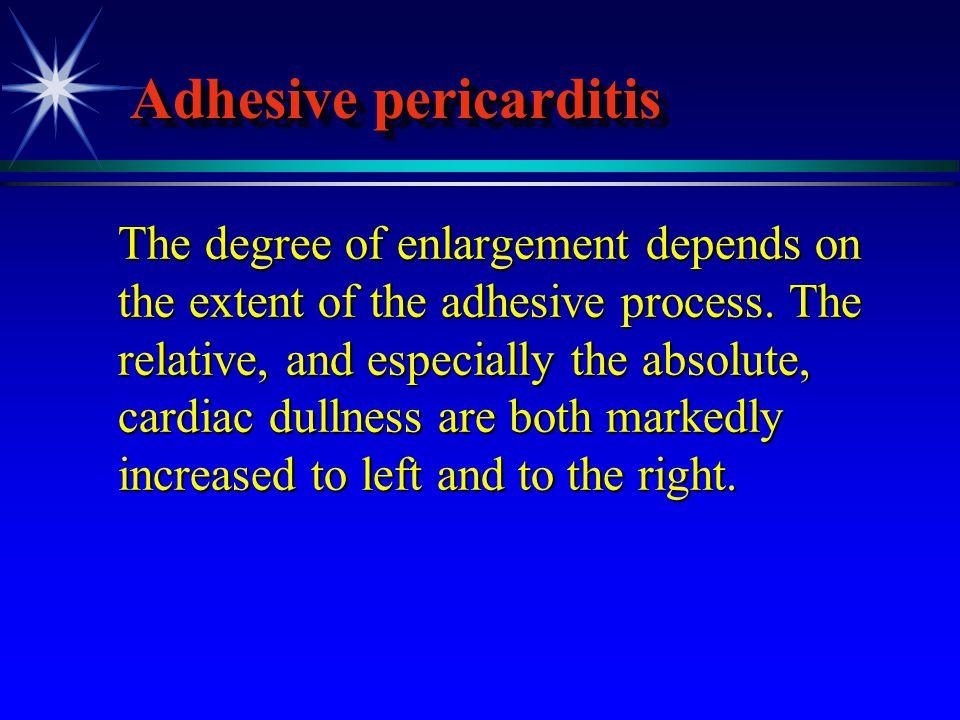 Adhesive pericarditis