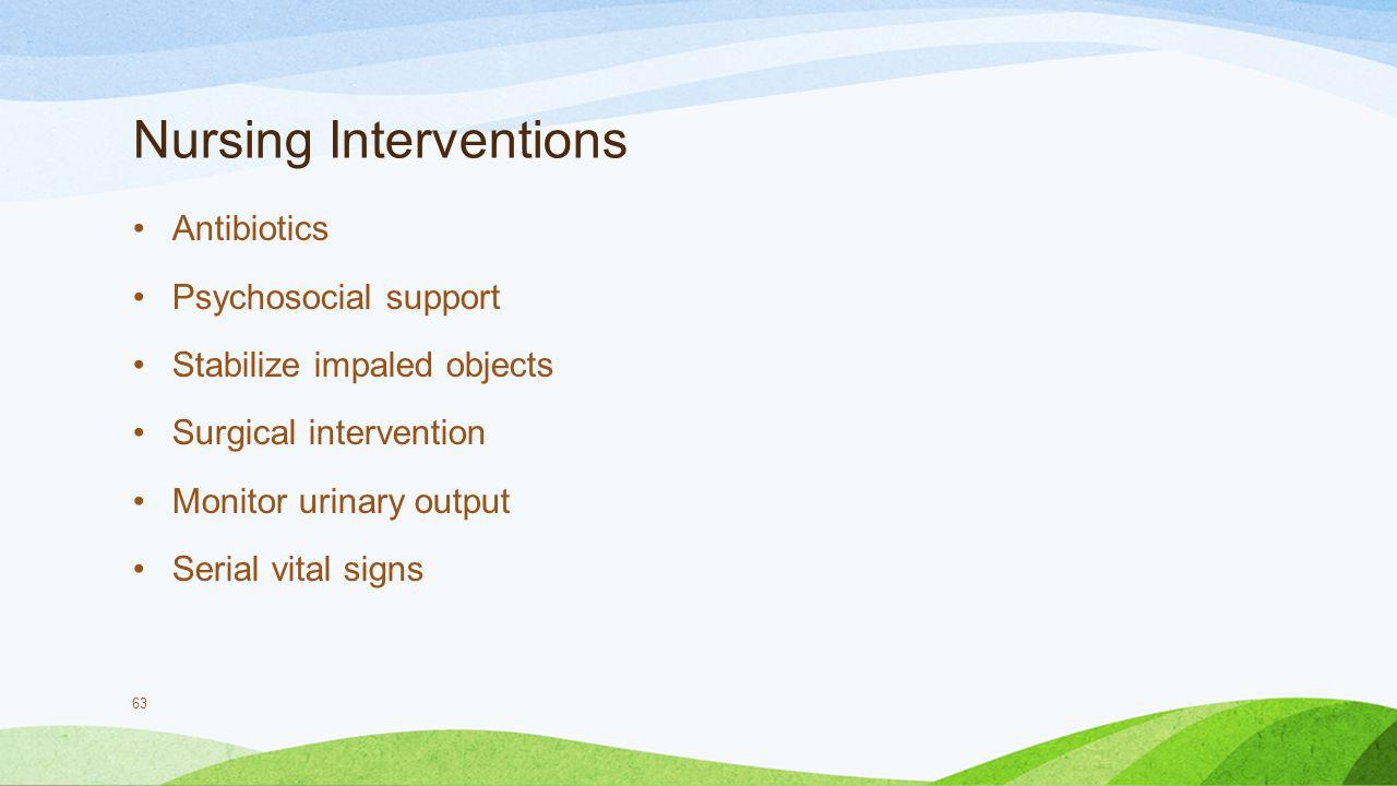 Nursing Interventions