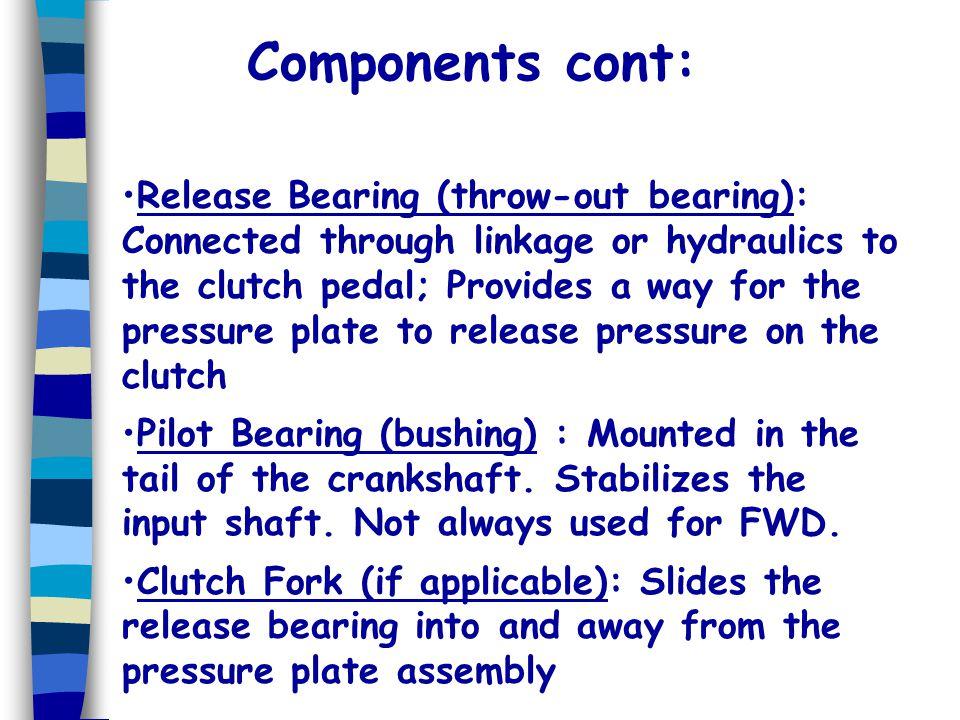 Components cont: