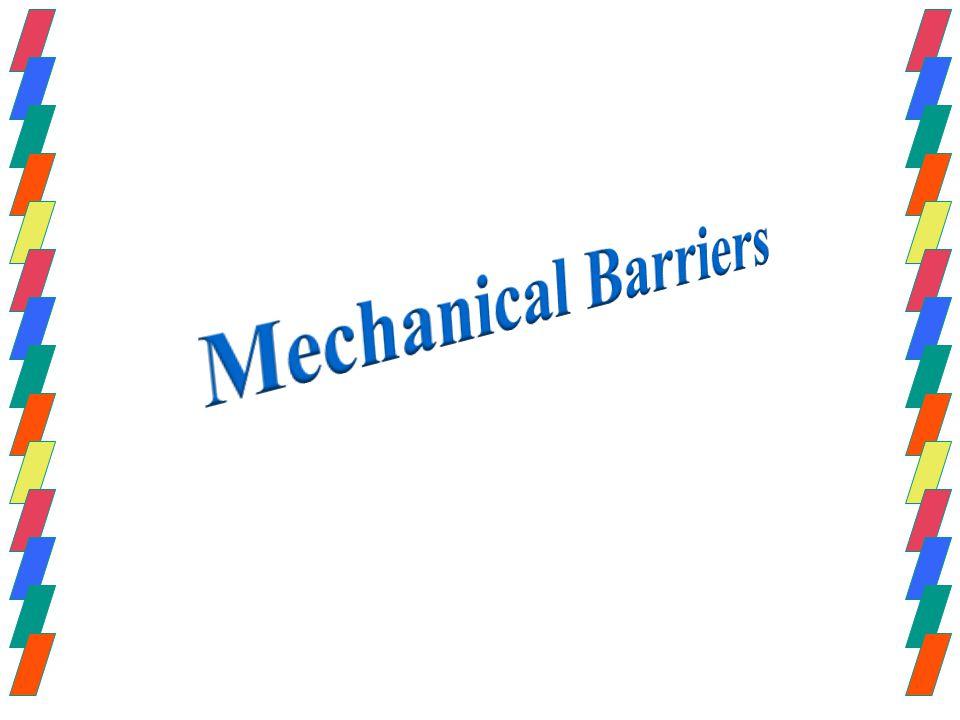 Mechanical Barriers