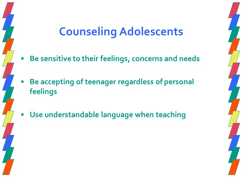 Counseling Adolescents