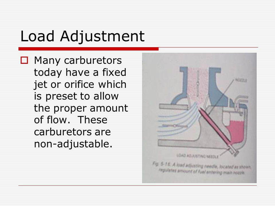 Load Adjustment