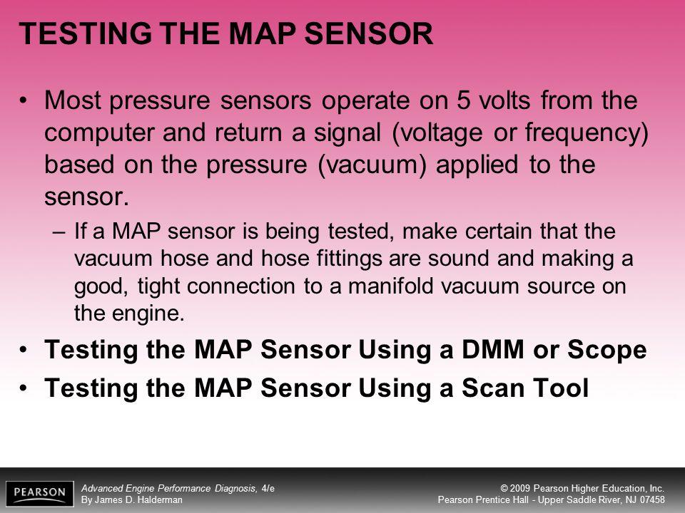 TESTING THE MAP SENSOR