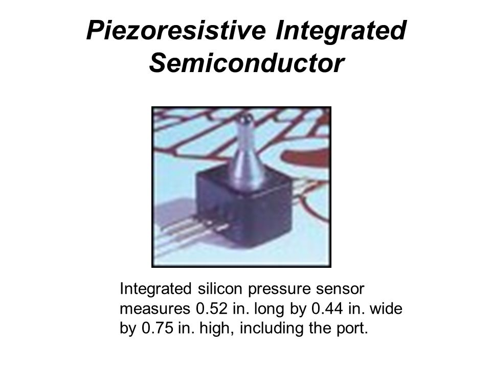 Piezoresistive Integrated Semiconductor