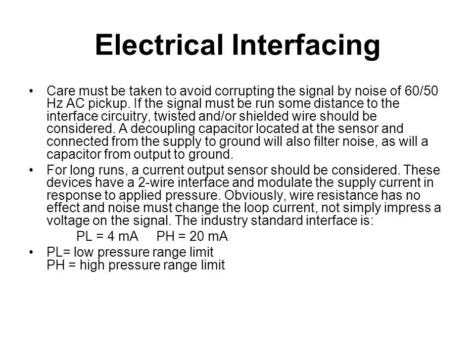 Electrical Interfacing