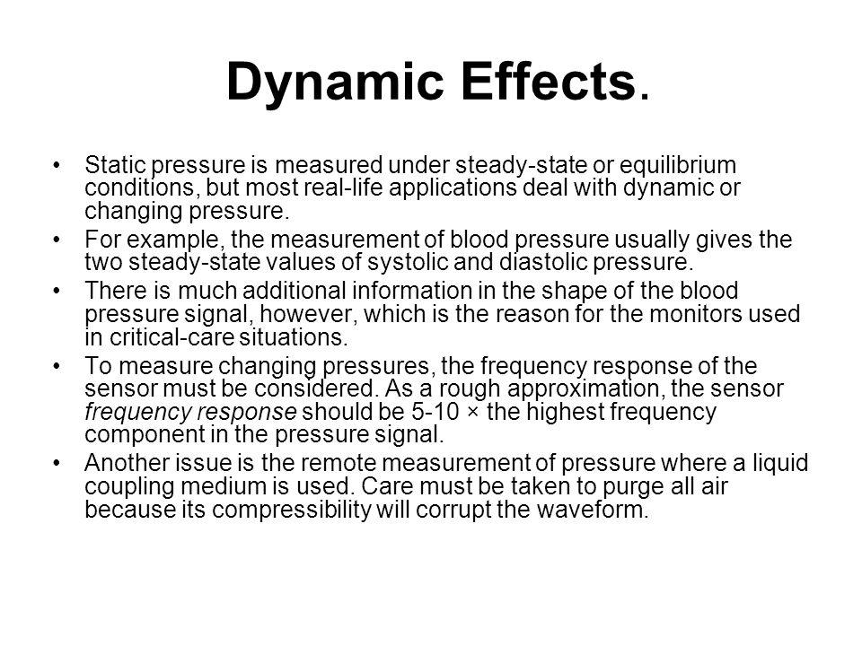 Dynamic Effects.