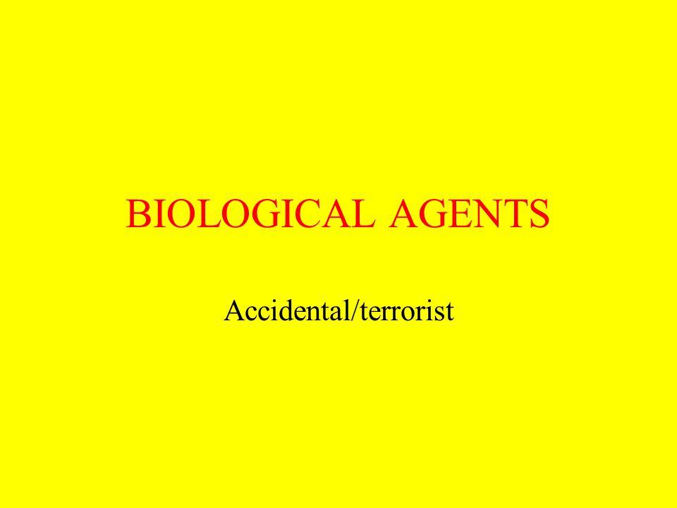 Accidental/terrorist