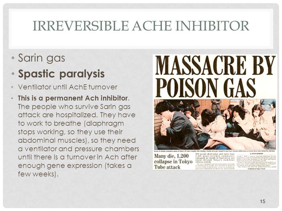 irreversible AchE inhibitor