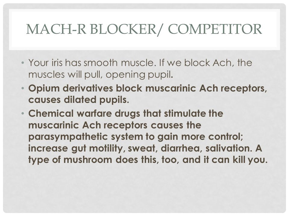 mACH-R blocker/ competitor