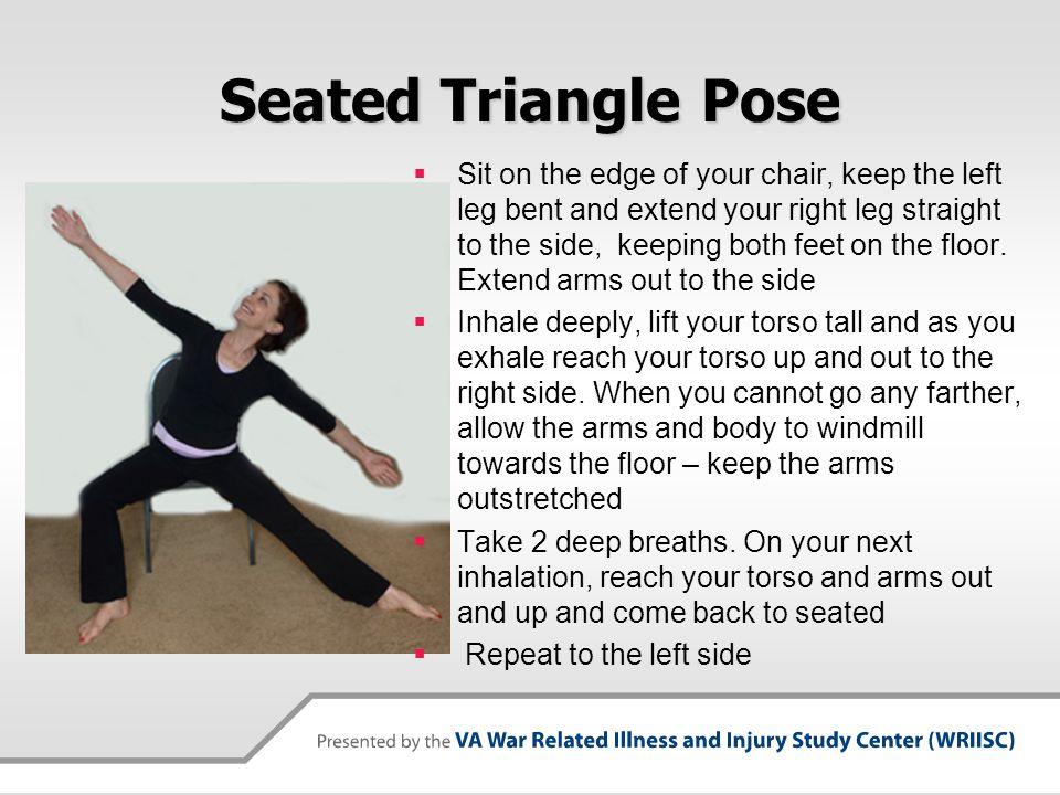 Seated Triangle Pose