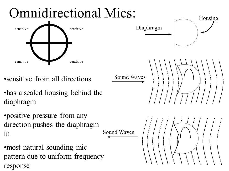 Omnidirectional Mics: