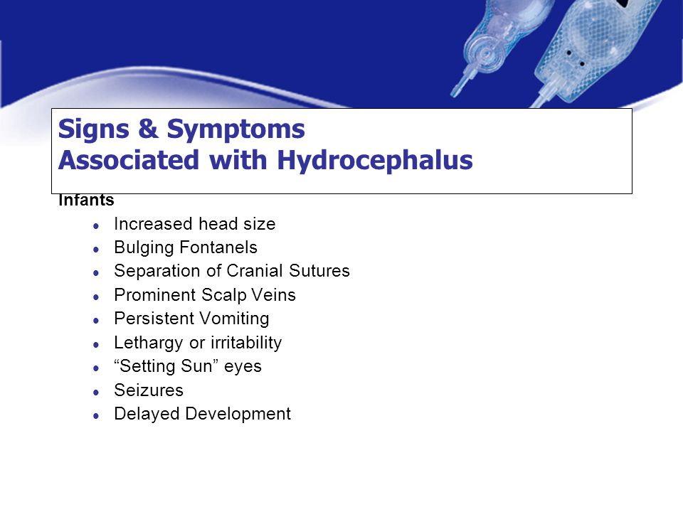 Signs & Symptoms Associated with Hydrocephalus
