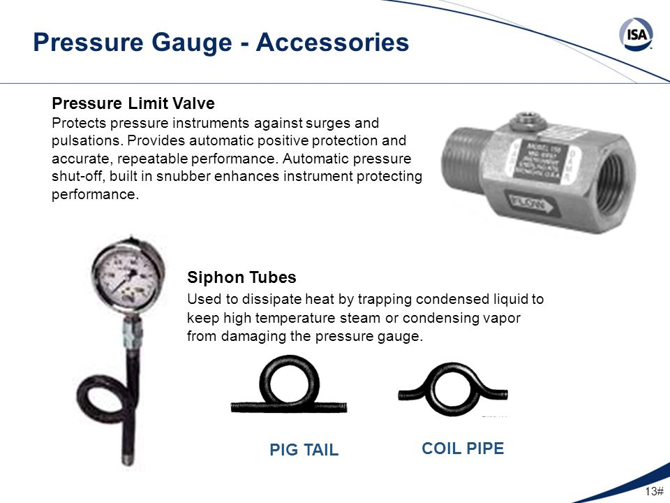 Pressure Gauge - Accessories