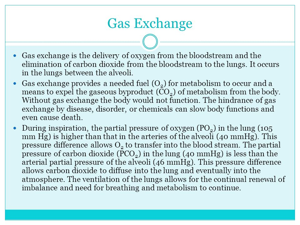 Gas Exchange