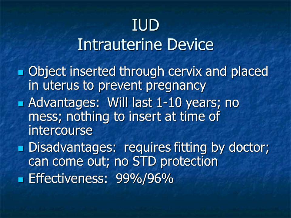 IUD Intrauterine Device