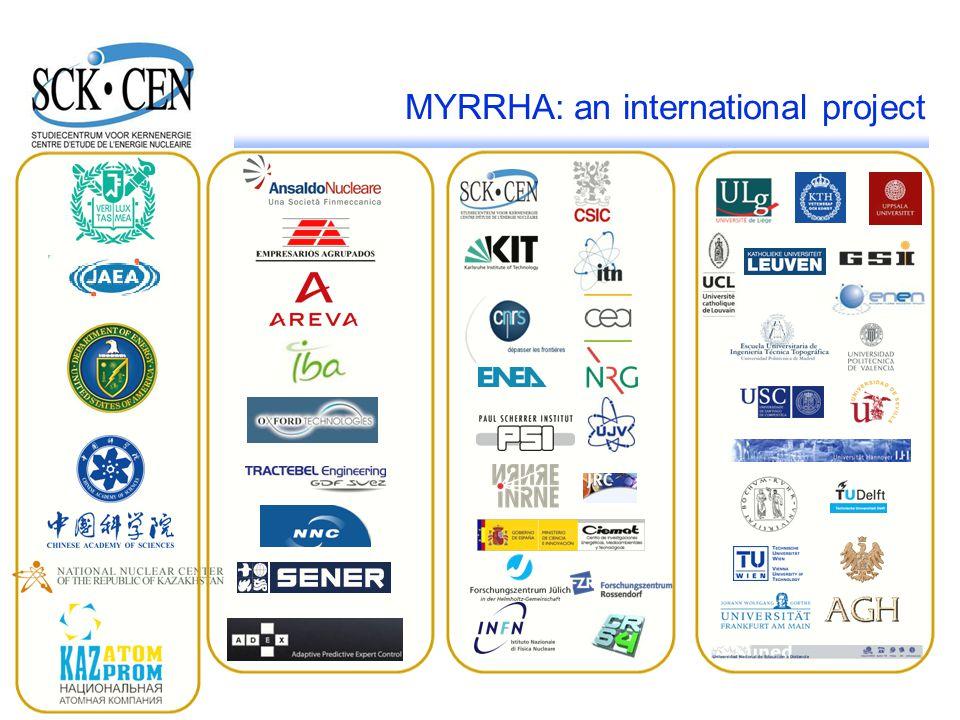 MYRRHA: an international project