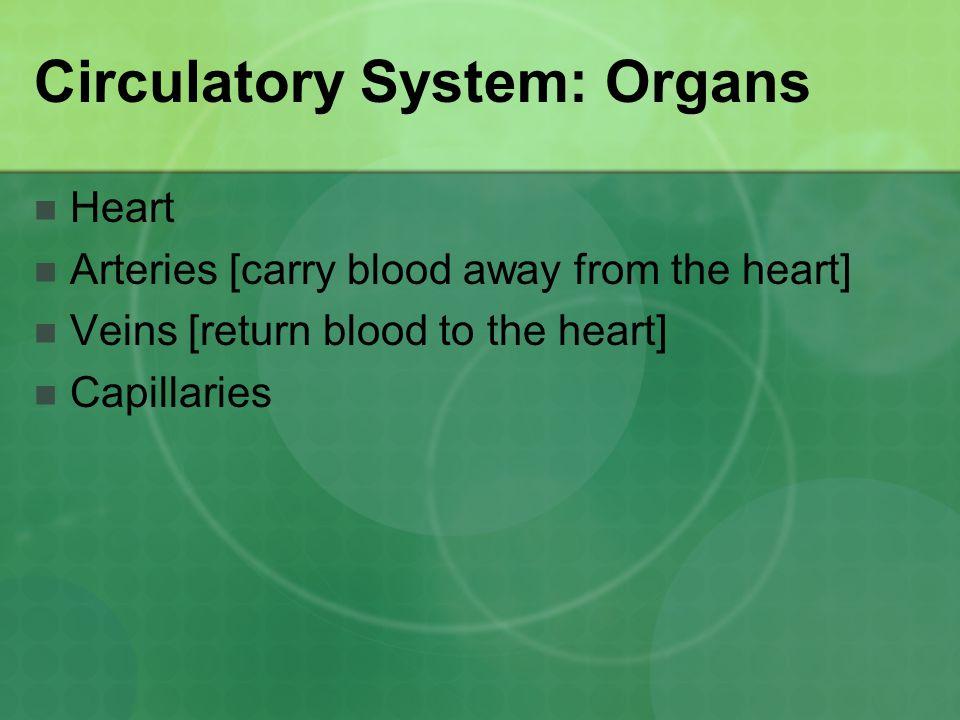 Circulatory System: Organs