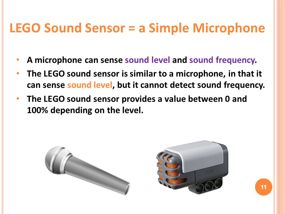 LEGO Sound Sensor = a Simple Microphone