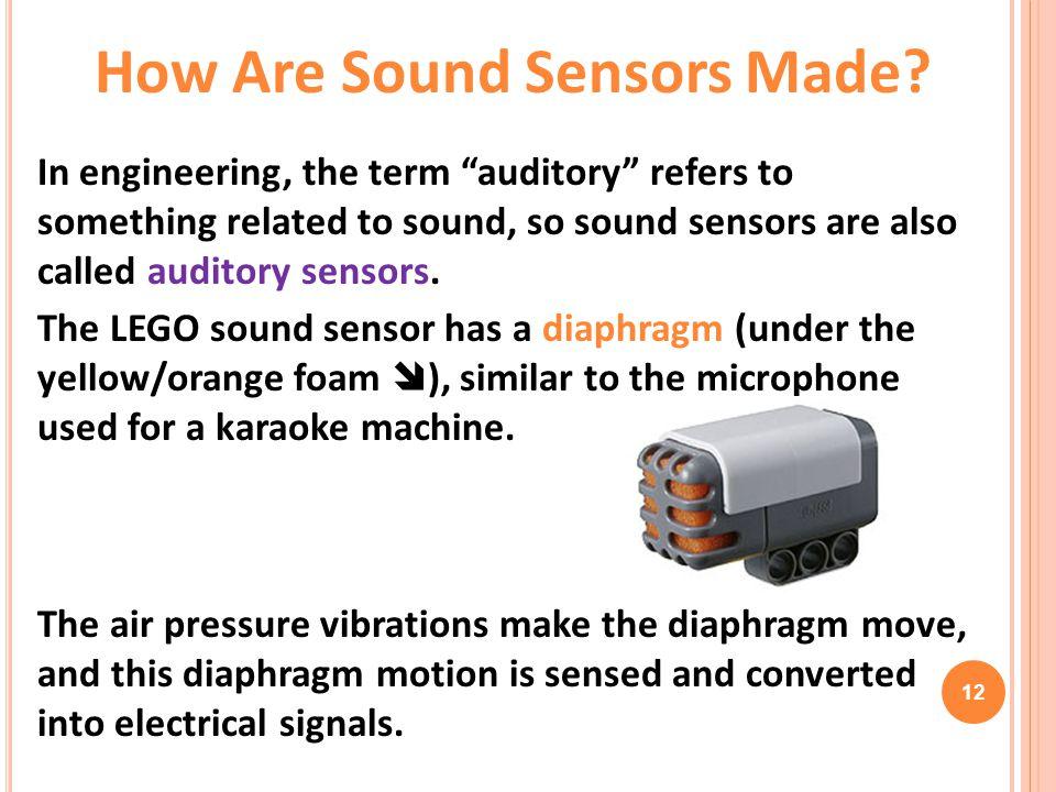 How Are Sound Sensors Made