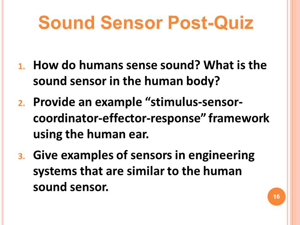 Sound Sensor Post-Quiz
