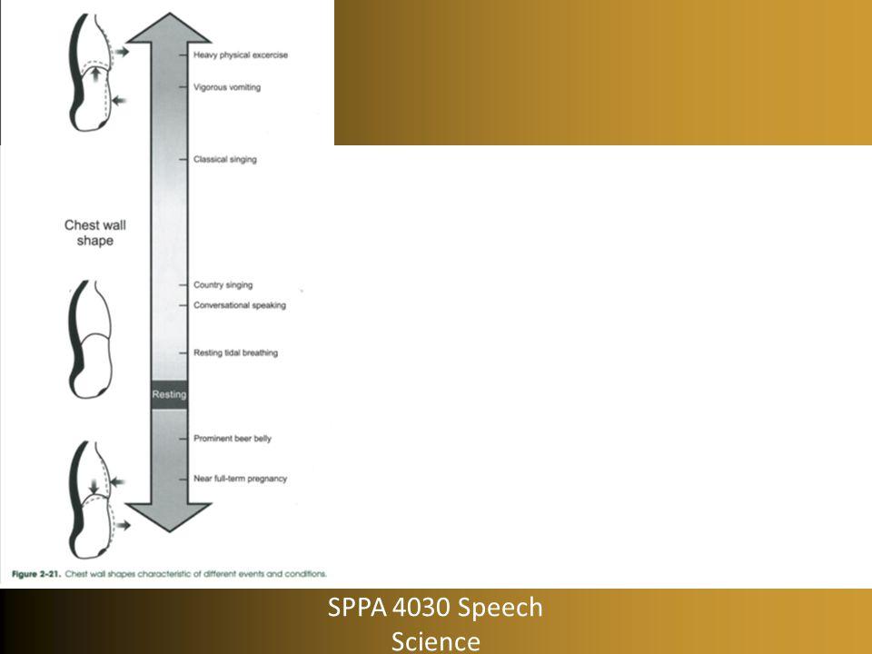 SPPA 4030 Speech Science