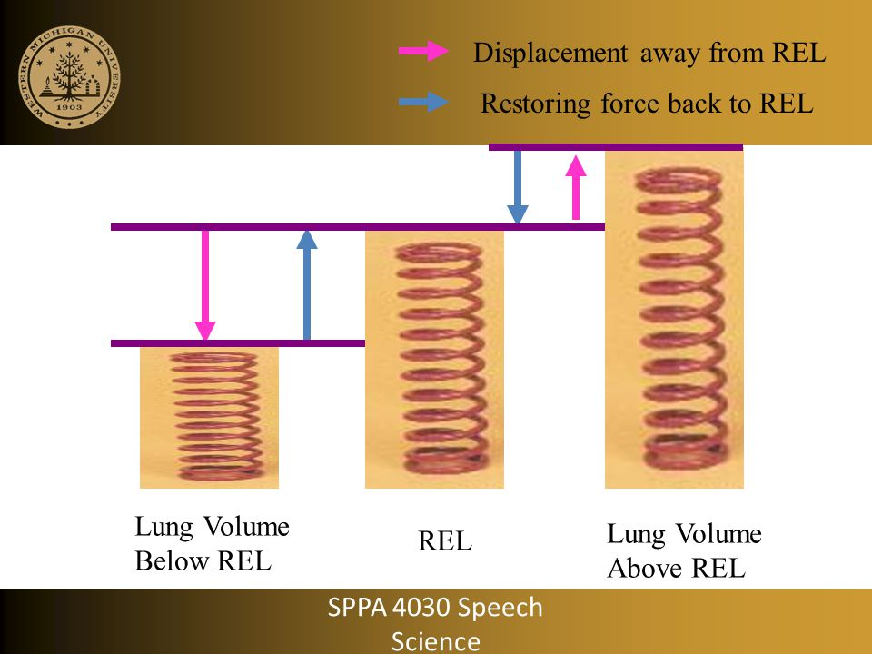 Displacement away from REL