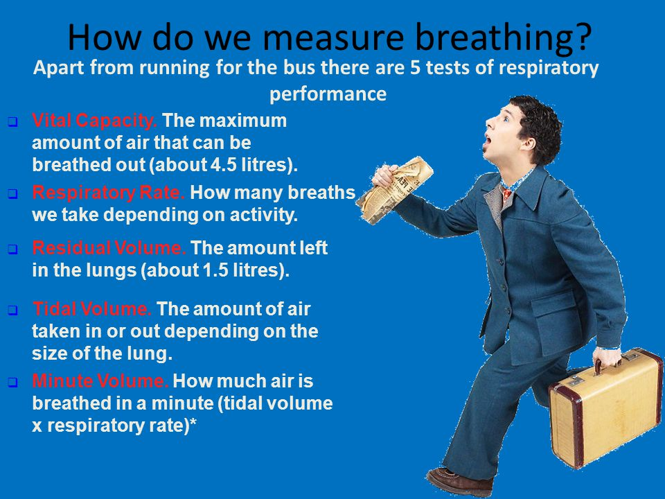 How do we measure breathing
