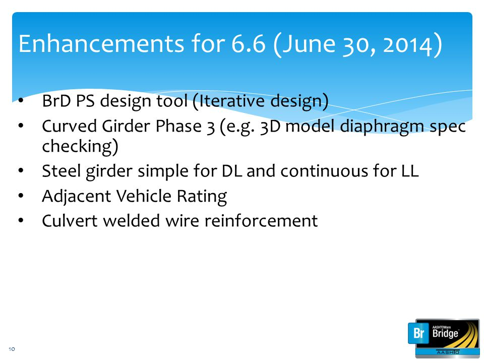 Enhancements for 6.6 (June 30, 2014)