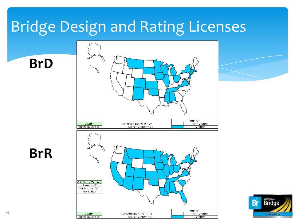 Bridge Design and Rating Licenses