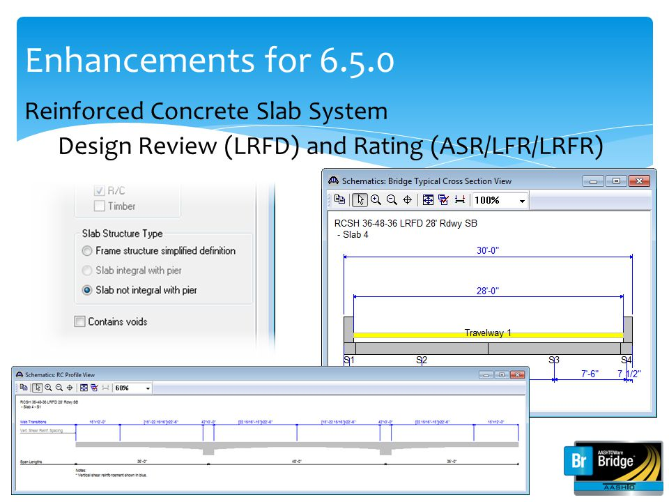 Enhancements for 6.5.0 Reinforced Concrete Slab System