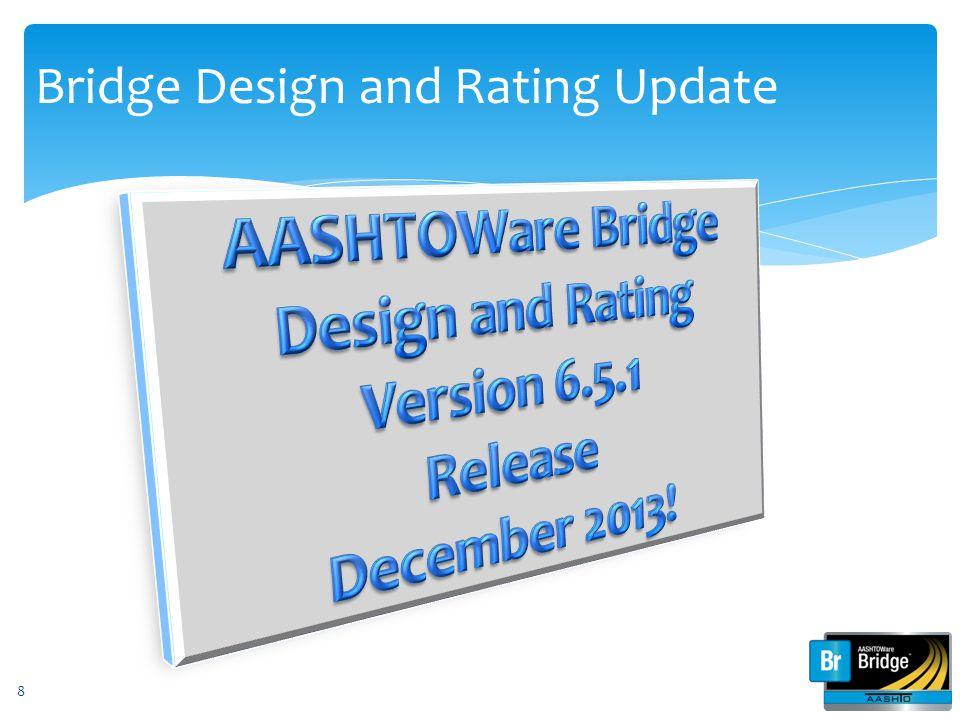 Bridge Design and Rating Update