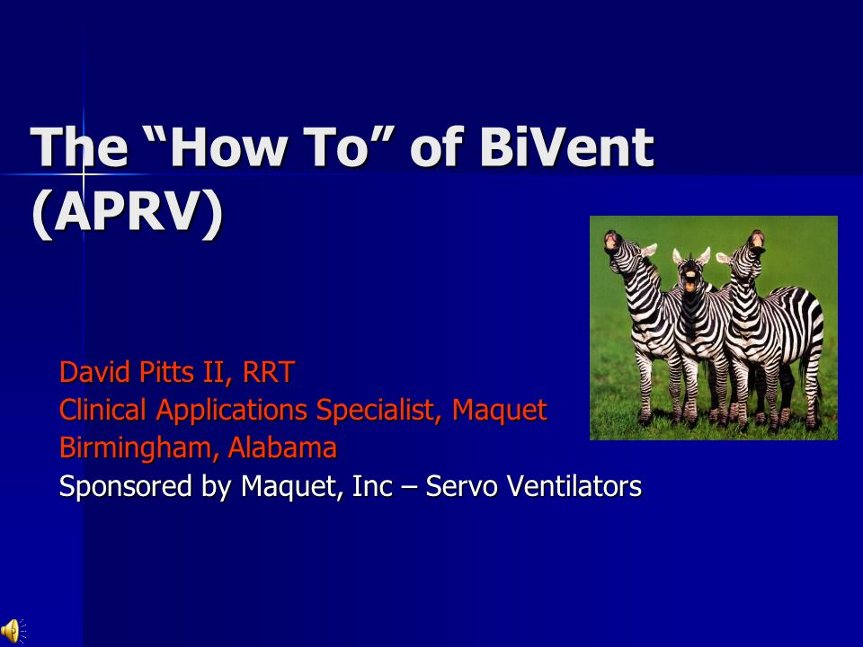 The How To of BiVent (APRV)