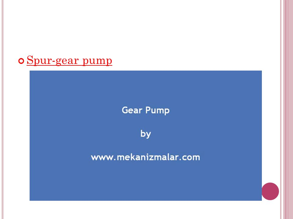 Spur-gear pump