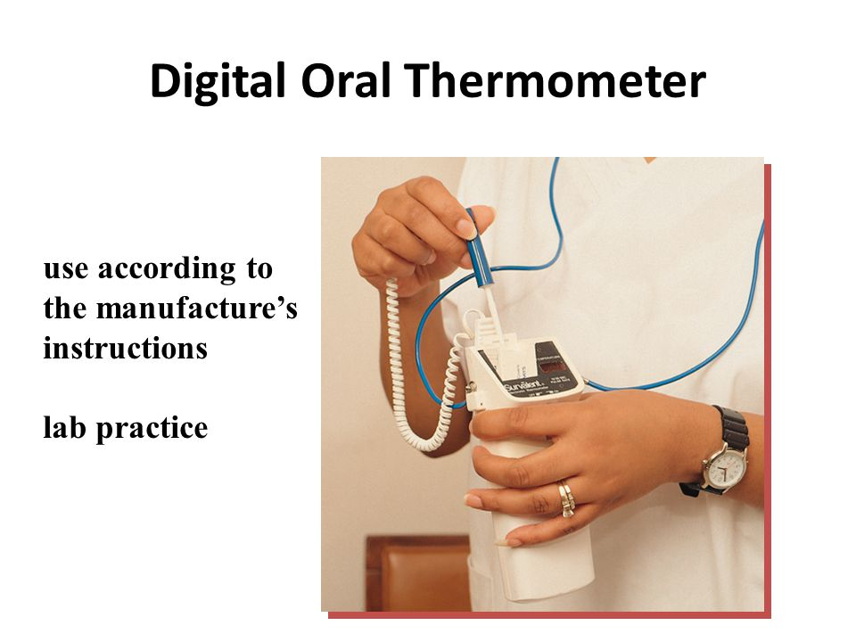 Digital Oral Thermometer