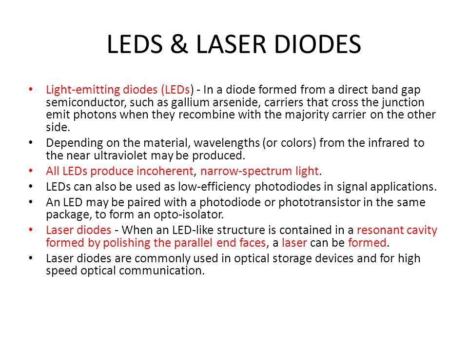 LEDS & LASER DIODES