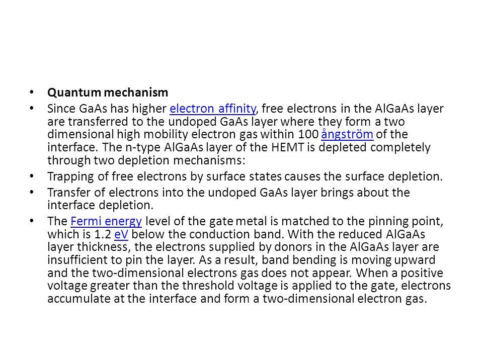 Quantum mechanism