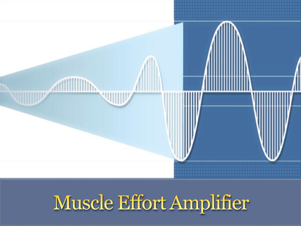 Muscle Effort Amplifier