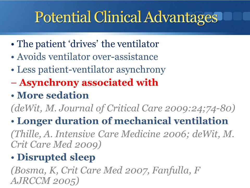 Potential Clinical Advantages