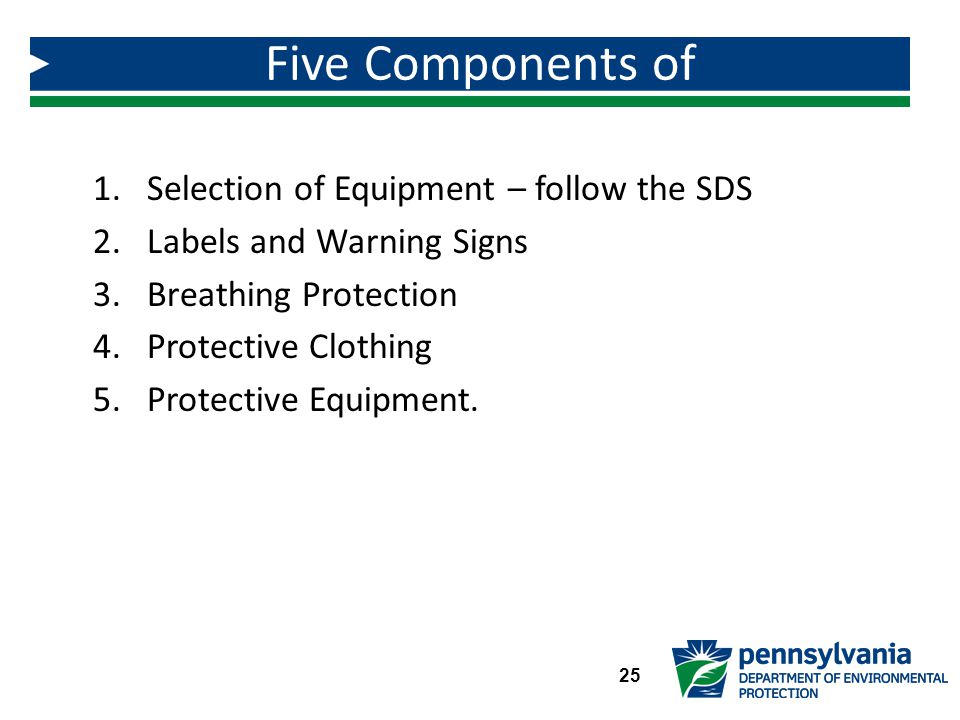 Five Components of Chemical Handling Equipment